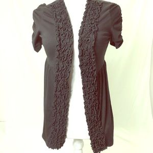 Maurices Tops - Maurice's Size Medium Open Front Ruffle Shawl Top